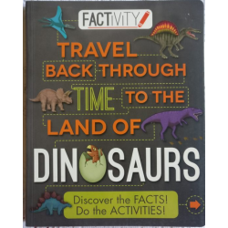 Factivity – TRAVEL BACK THROUGH THE TIME OF WORLD OF DINOSAURS(PRE-ORDER)