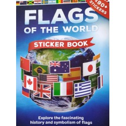 Flags of the world -Sticker book