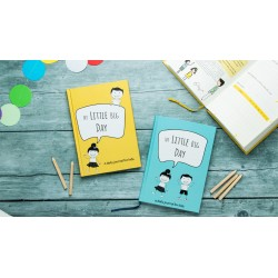 My Little Big Day Journal – Yellow & Blue Book Bundle