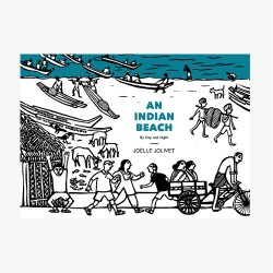 AN INDIAN BEACH - Never Ending Book
