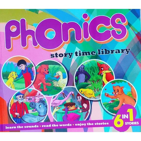 Phonics Story Time Library (6 in 1 Stories) (Orange)