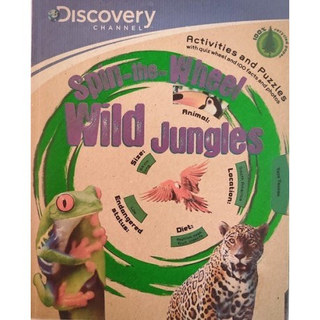 Discovery Spin the Wheel Wild Jungles