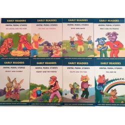 Early Readers Animal Moral Stories Set of 8 Books