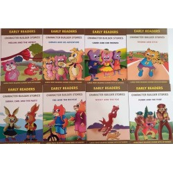 Early Readers Character Builder Stories Set of 8 Books